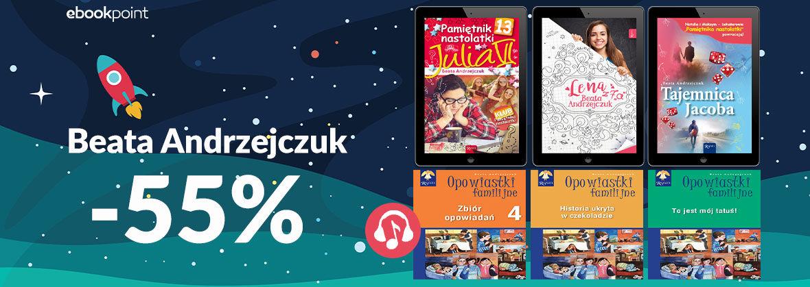 Promocja na ebooki Beata Andrzejczuk / -55%
